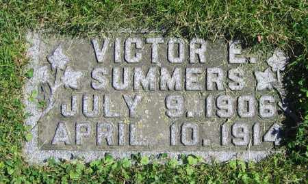 SUMMERS, VICTOR E. - Clark County, Ohio | VICTOR E. SUMMERS - Ohio Gravestone Photos