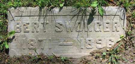 SWONGER, BERT - Clark County, Ohio | BERT SWONGER - Ohio Gravestone Photos