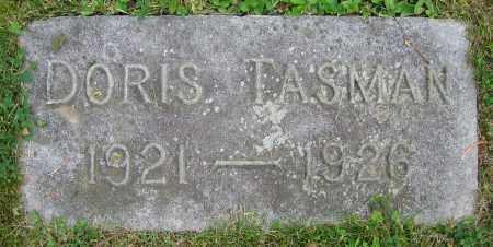 TASMAN, DORIS - Clark County, Ohio   DORIS TASMAN - Ohio Gravestone Photos