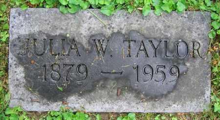 TAYLOR, JULIA W. - Clark County, Ohio | JULIA W. TAYLOR - Ohio Gravestone Photos