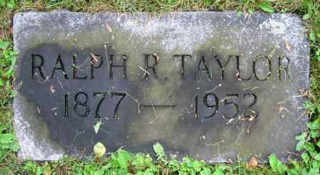 TAYLOR, RALPH R. - Clark County, Ohio   RALPH R. TAYLOR - Ohio Gravestone Photos