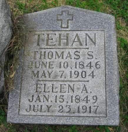 TEHAN, ELLEN A. - Clark County, Ohio | ELLEN A. TEHAN - Ohio Gravestone Photos