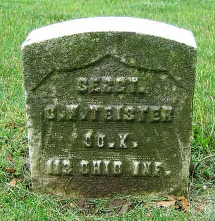 TEISTER, C.W. - Clark County, Ohio | C.W. TEISTER - Ohio Gravestone Photos
