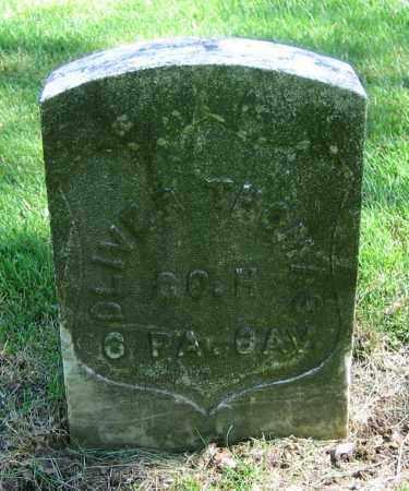 THOMAS, OLIVER - Clark County, Ohio | OLIVER THOMAS - Ohio Gravestone Photos