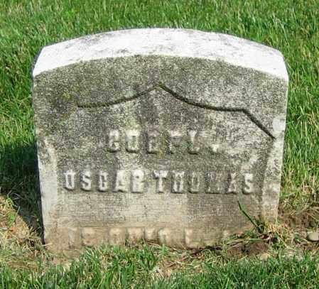 THOMAS, OSCAR - Clark County, Ohio   OSCAR THOMAS - Ohio Gravestone Photos
