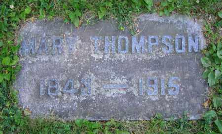 THOMPSON, MARY - Clark County, Ohio | MARY THOMPSON - Ohio Gravestone Photos