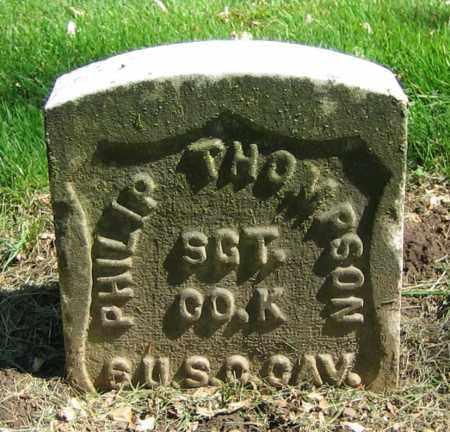 THOMPSON, PHILIP - Clark County, Ohio | PHILIP THOMPSON - Ohio Gravestone Photos