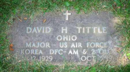 TITTLE, DAVID H. - Clark County, Ohio | DAVID H. TITTLE - Ohio Gravestone Photos