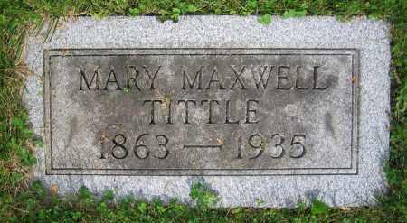 MAXWELL TITTLE, MARY - Clark County, Ohio | MARY MAXWELL TITTLE - Ohio Gravestone Photos