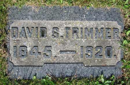 TRIMMER, DAVID S. - Clark County, Ohio | DAVID S. TRIMMER - Ohio Gravestone Photos