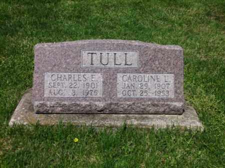 TULL, CHARLES E. - Clark County, Ohio | CHARLES E. TULL - Ohio Gravestone Photos
