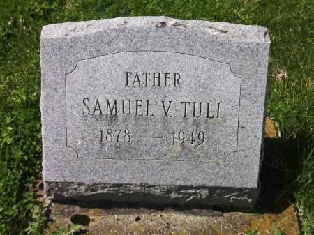 TULL, SAMUEL VINTON - Clark County, Ohio | SAMUEL VINTON TULL - Ohio Gravestone Photos