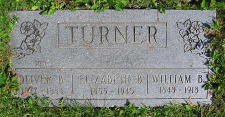 TURNER, OLIVER B. - Clark County, Ohio | OLIVER B. TURNER - Ohio Gravestone Photos
