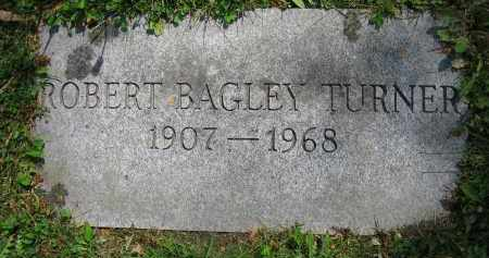 TURNER, ROBERT BAGLEY - Clark County, Ohio | ROBERT BAGLEY TURNER - Ohio Gravestone Photos