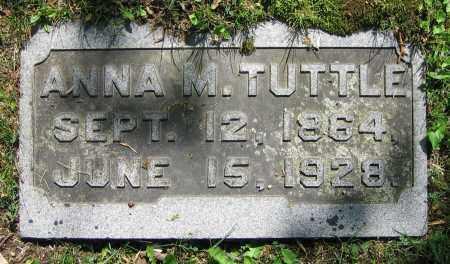 TUTTLE, ANNA M. - Clark County, Ohio | ANNA M. TUTTLE - Ohio Gravestone Photos