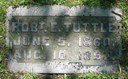 TUTTLE, ROB'T. E. - Clark County, Ohio | ROB'T. E. TUTTLE - Ohio Gravestone Photos