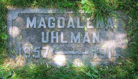 UHLMAN, MAGDALENA - Clark County, Ohio | MAGDALENA UHLMAN - Ohio Gravestone Photos