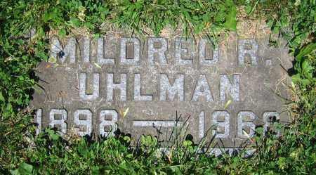 UHLMAN, MILDRED R. - Clark County, Ohio | MILDRED R. UHLMAN - Ohio Gravestone Photos