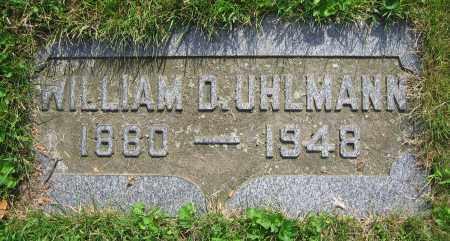 UHLMANN, WILLIAM D. - Clark County, Ohio | WILLIAM D. UHLMANN - Ohio Gravestone Photos