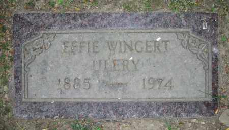 WINGERT ULERY, EFFIE - Clark County, Ohio | EFFIE WINGERT ULERY - Ohio Gravestone Photos