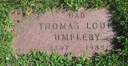 UMPLEBY, THOMAS LOUIS - Clark County, Ohio   THOMAS LOUIS UMPLEBY - Ohio Gravestone Photos