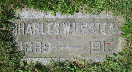 UMSTEAD, CHARLES W. - Clark County, Ohio   CHARLES W. UMSTEAD - Ohio Gravestone Photos