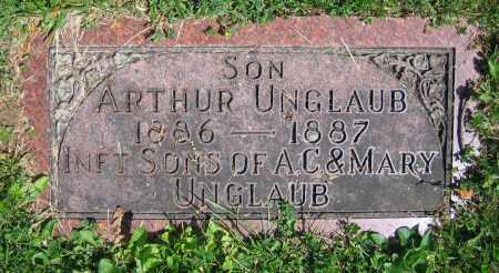 UNGLAUB, ARTHUR - Clark County, Ohio   ARTHUR UNGLAUB - Ohio Gravestone Photos