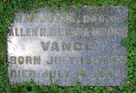 VANCE, MARJORIE - Clark County, Ohio | MARJORIE VANCE - Ohio Gravestone Photos
