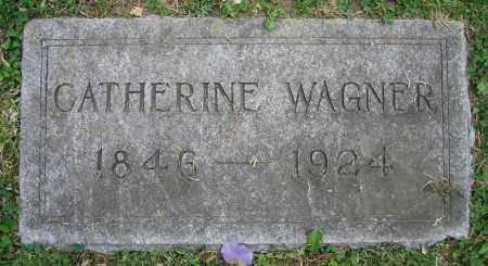 WAGNER, CATHERINE - Clark County, Ohio | CATHERINE WAGNER - Ohio Gravestone Photos