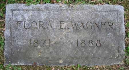 WAGNER, FLORA E. - Clark County, Ohio | FLORA E. WAGNER - Ohio Gravestone Photos