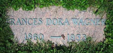 WAGNER, FRANCES DORA - Clark County, Ohio | FRANCES DORA WAGNER - Ohio Gravestone Photos