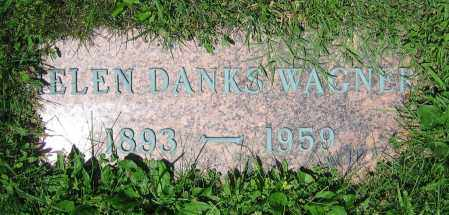 DANKS WAGNER, HELEN - Clark County, Ohio | HELEN DANKS WAGNER - Ohio Gravestone Photos