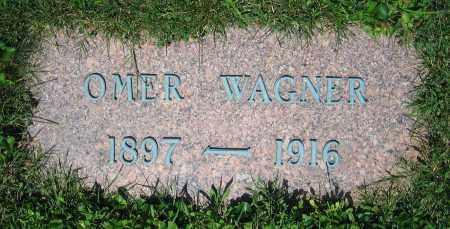 WAGNER, OMER - Clark County, Ohio | OMER WAGNER - Ohio Gravestone Photos