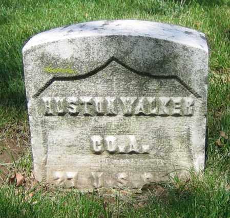 WALKER, HUSTON - Clark County, Ohio   HUSTON WALKER - Ohio Gravestone Photos