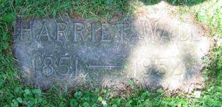 WALL, HARRIETT - Clark County, Ohio | HARRIETT WALL - Ohio Gravestone Photos