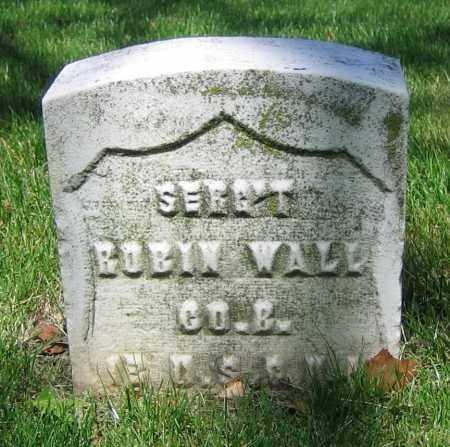 WALL, ROBIN - Clark County, Ohio | ROBIN WALL - Ohio Gravestone Photos