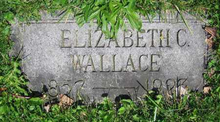 WALLACE, ELIZABETH C. - Clark County, Ohio | ELIZABETH C. WALLACE - Ohio Gravestone Photos