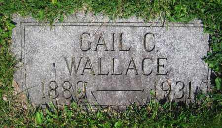 WALLACE, GAIL C. - Clark County, Ohio | GAIL C. WALLACE - Ohio Gravestone Photos