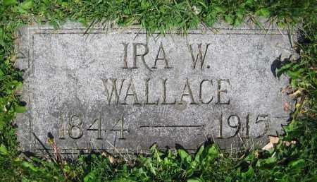 WALLACE, IRA W. - Clark County, Ohio | IRA W. WALLACE - Ohio Gravestone Photos
