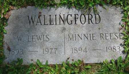 WALLINGFORD, W. LEWIS - Clark County, Ohio | W. LEWIS WALLINGFORD - Ohio Gravestone Photos