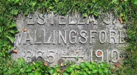 WALLINGSFORD, ESTELLA J. - Clark County, Ohio | ESTELLA J. WALLINGSFORD - Ohio Gravestone Photos
