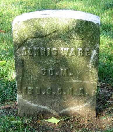 WARE, DENNIS - Clark County, Ohio | DENNIS WARE - Ohio Gravestone Photos