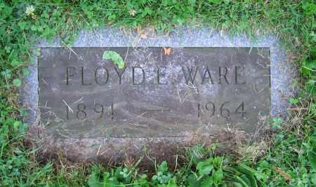 WARE, FLOYD E. - Clark County, Ohio | FLOYD E. WARE - Ohio Gravestone Photos