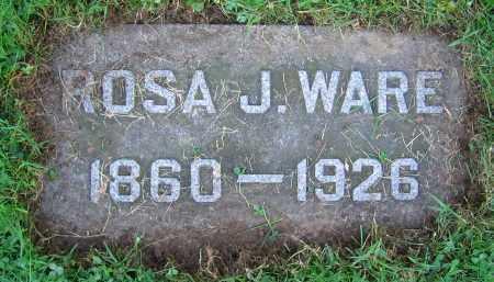 WARE, ROSA J. - Clark County, Ohio | ROSA J. WARE - Ohio Gravestone Photos