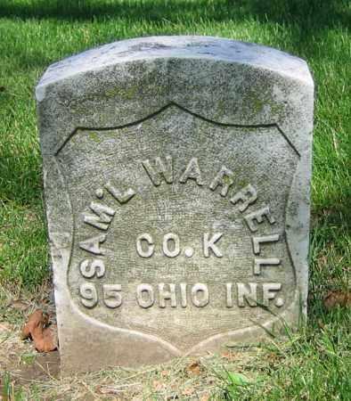 WARRELL, SAM'L - Clark County, Ohio | SAM'L WARRELL - Ohio Gravestone Photos