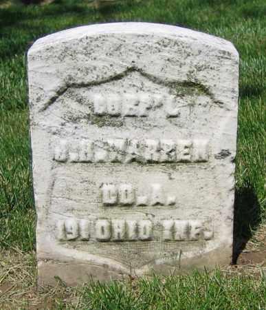 WARREN, J.H. - Clark County, Ohio | J.H. WARREN - Ohio Gravestone Photos
