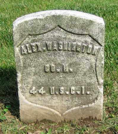 WASHINGTON, ALEX. - Clark County, Ohio | ALEX. WASHINGTON - Ohio Gravestone Photos