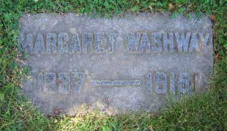 WASHWAY, MARGARET - Clark County, Ohio | MARGARET WASHWAY - Ohio Gravestone Photos