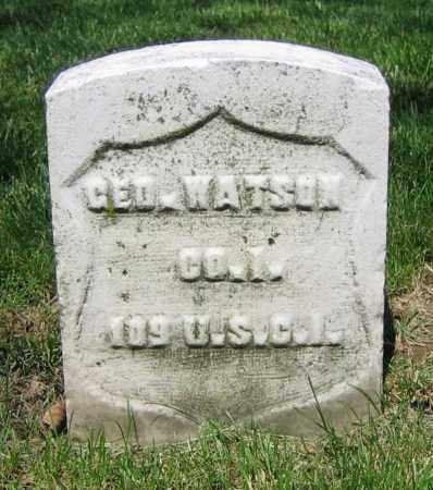 WATSON, GEO. - Clark County, Ohio | GEO. WATSON - Ohio Gravestone Photos