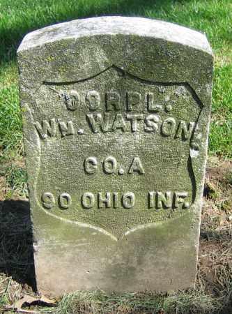 WATSON, WM. - Clark County, Ohio | WM. WATSON - Ohio Gravestone Photos